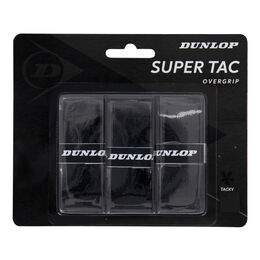 D TAC SUPER TAC OVERGRIP BLACK 3PCS