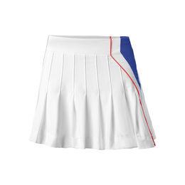 Long Techno Pleated Skirt