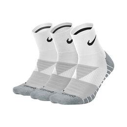Unisex Dry Cushion Quarter Training Sock 83Pair) Traiining Ankle Socks (3pair)