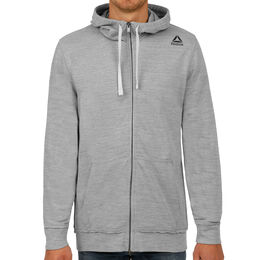 Elements Marble Melange Full-Zip Hoodie Men