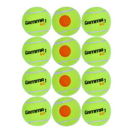 Tennisball Stage 2, Orange Dot 12er Beutel