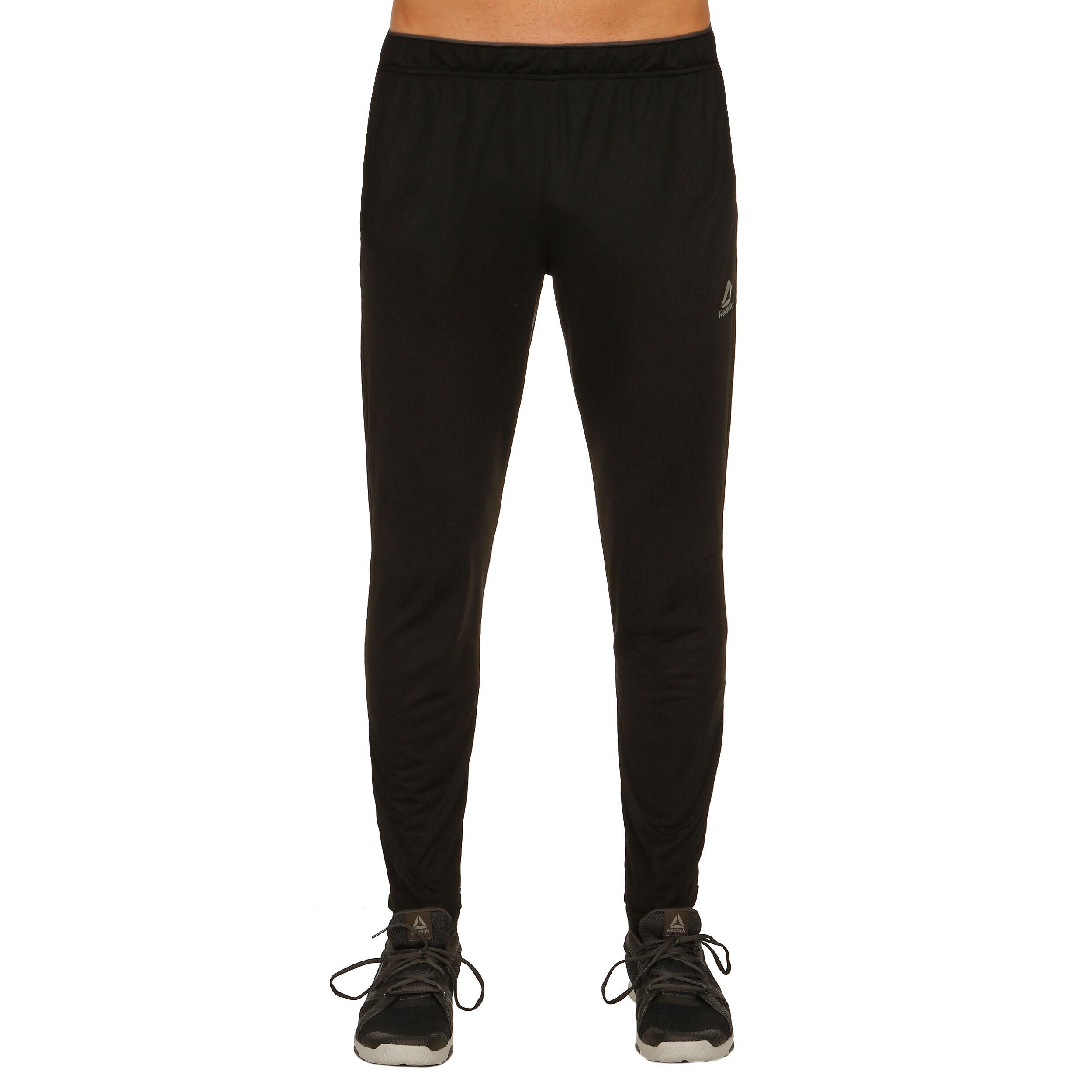 Reebok Workout Ready Stacked Logo Pantalon Survêtement