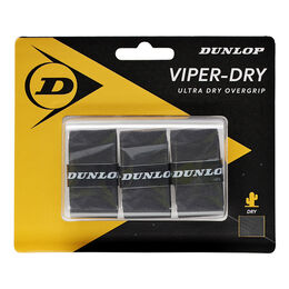 D TAC VIPERDRY OVERGRIP BLACK 3PCS