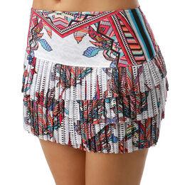 Hi-Phoenix Rising Pleated Scallop Skirt Women