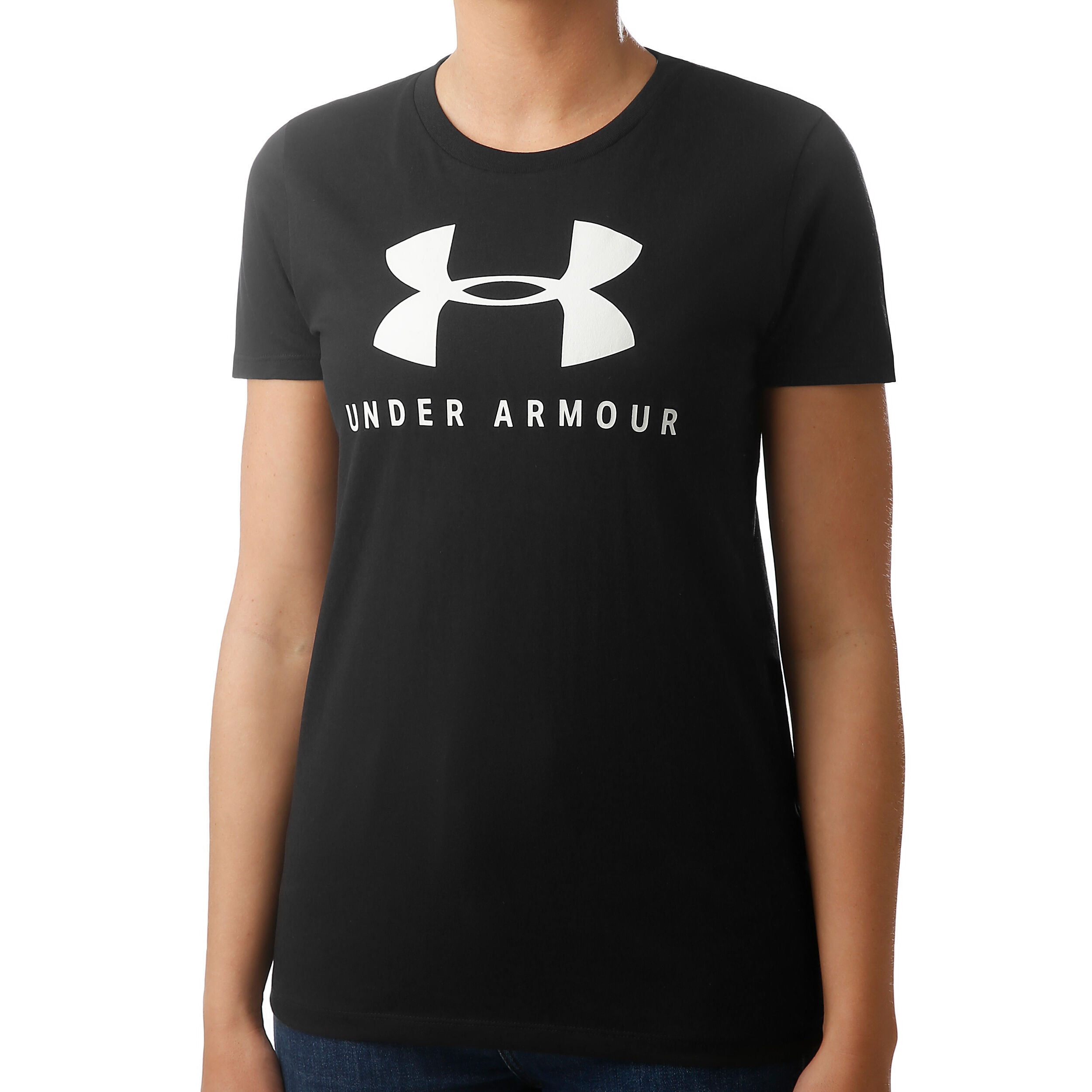 Blanc Taille Fabricant : XS FR Under Armour Graphic Classic T-Shirt Femme