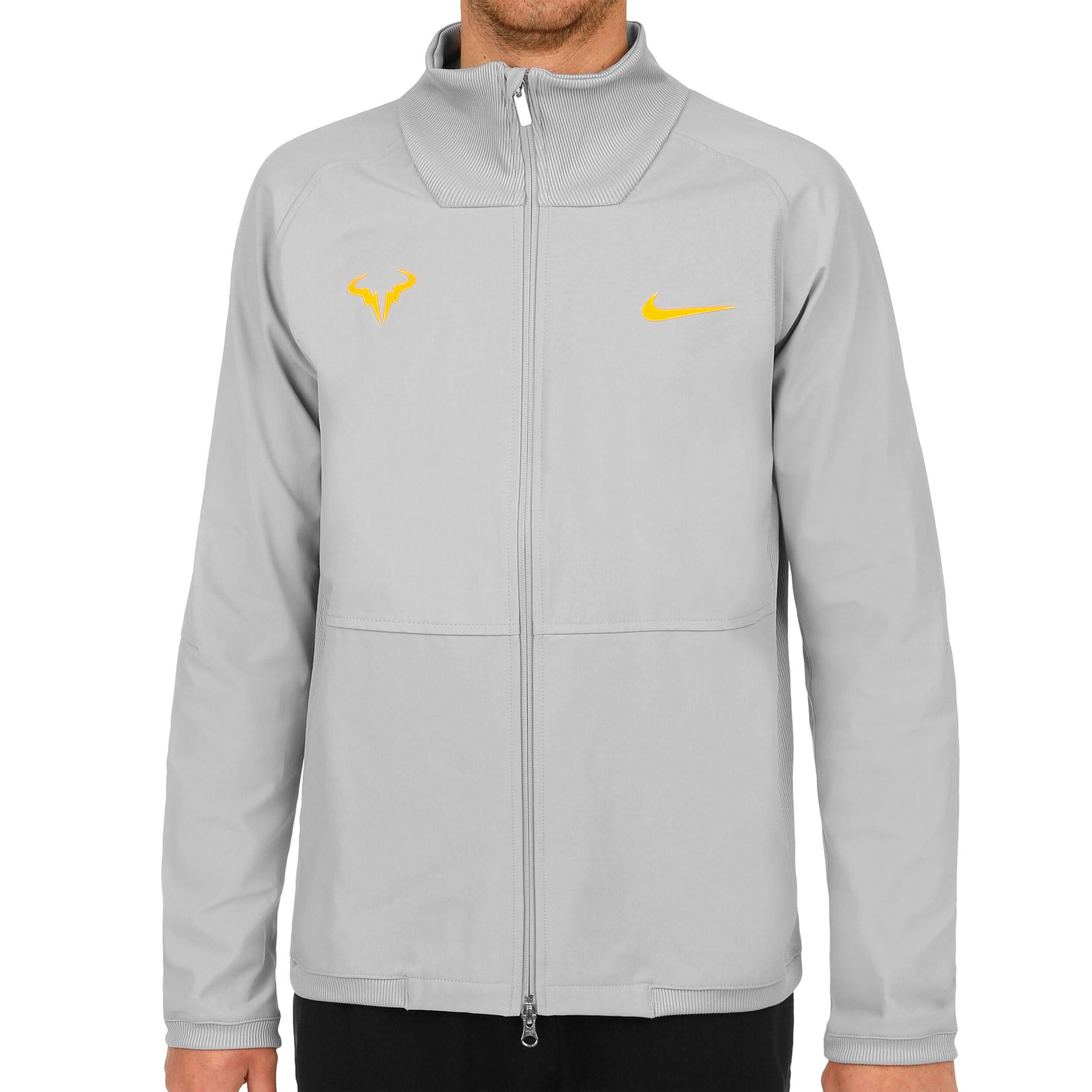Nike Rafael Nadal Court Veste De Survêtement Hommes Gris