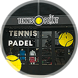 Tennis-point stocke en-tête